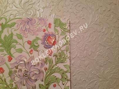 Покраска линкрусты в несколько цветов