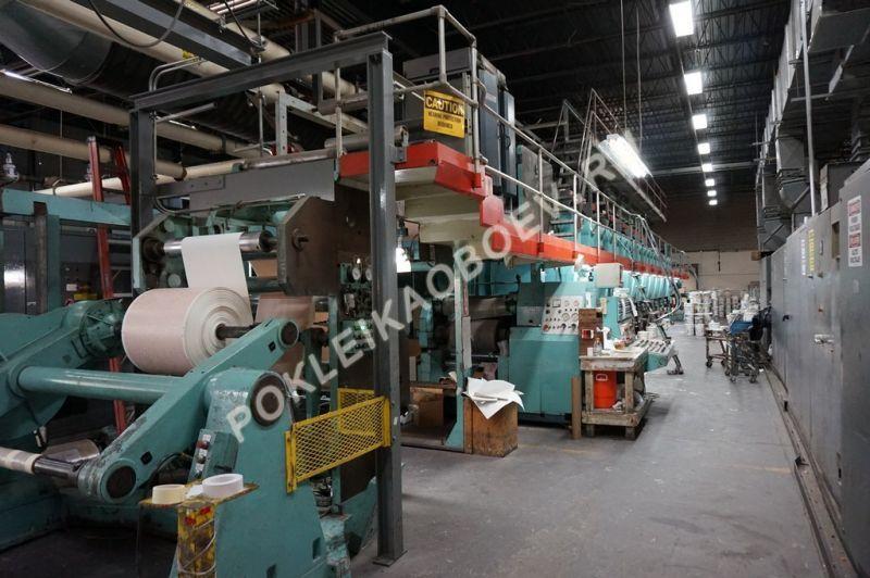завод по производству обоев в США