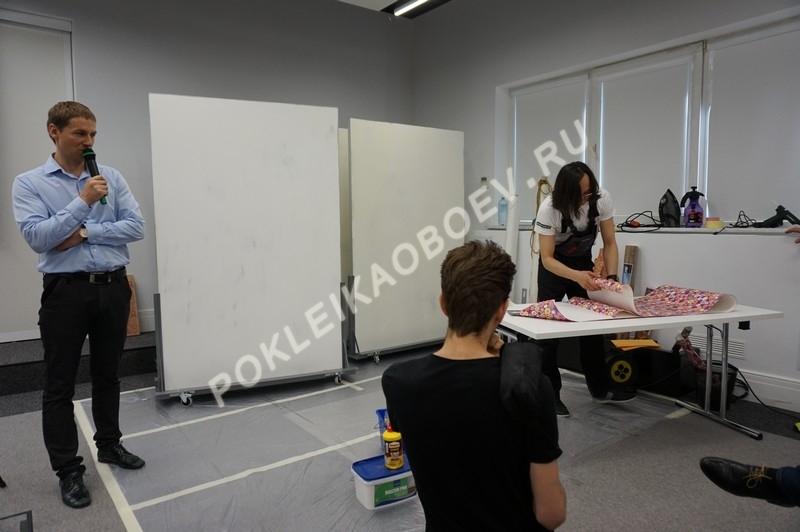 В семинаре приняли участие представители розничных обойных салонов, ритейлеров и специалисты по инсталляции обойных покрытий
