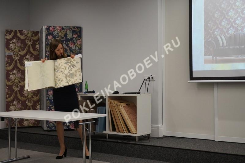 продемонстрированы каталоги с новыми коллекциями обоев Piterra