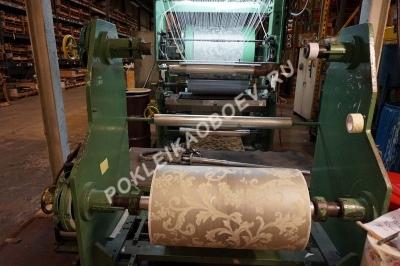 Станок по производству текстильных обоев Wallquest