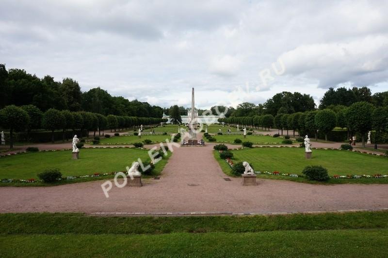 Ухоженный сад во французском стиле усадьбы Кусково