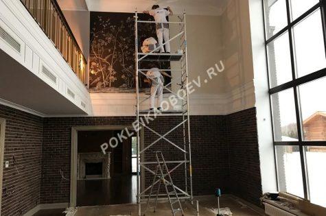 работа в помещениях с очень высокими потолками