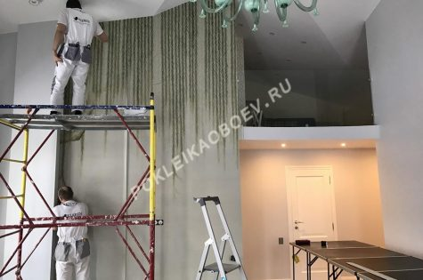 работа в помещениях с высокими потолками